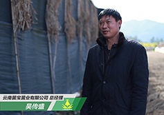 吴传盛--云南菌宝菌业公司总经理
