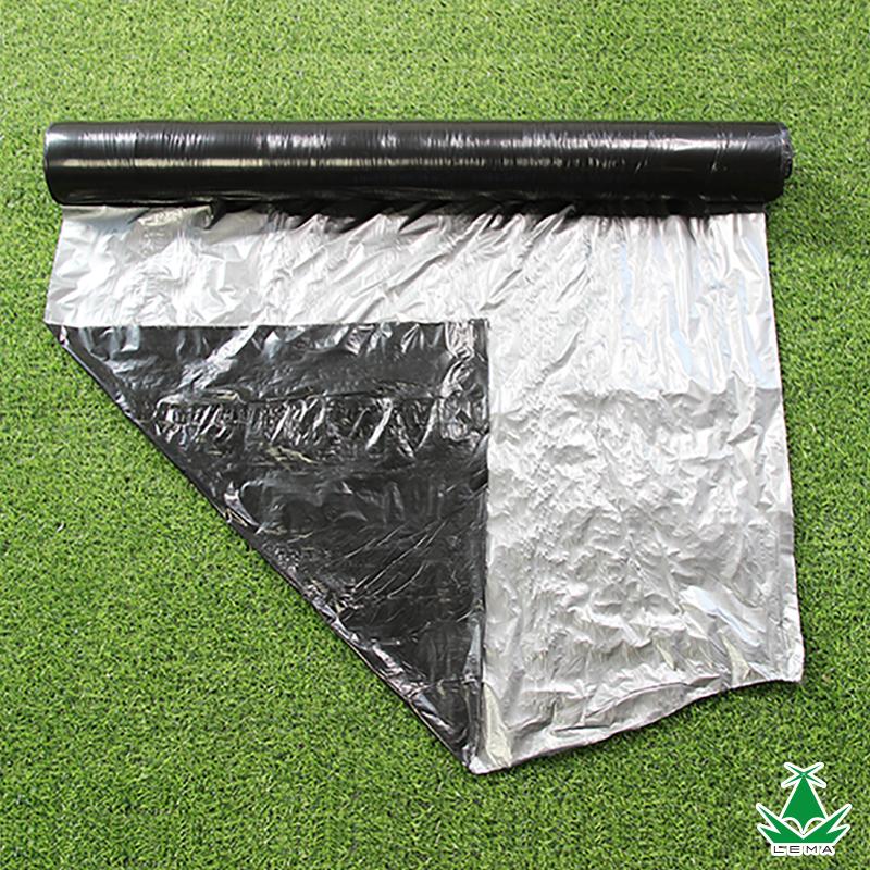 雷马牌农用银黑色地膜 种植地膜 农膜 塑料薄膜